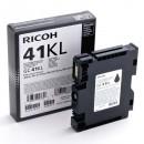 Ricoh originální gelová náplň 405765, black, 600str., GC41KL, Ricoh AFICIO SG 3100, SG 3110
