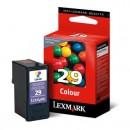 Lexmark originální ink 18C1429E, #29, color, return, Lexmark Z845, P350, Z1300, Z1320