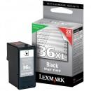 Lexmark originální ink 18C2170E, #36XL, black, return, 500str., Lexmark Z2420, X4650