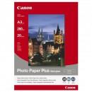 Canon Photo Paper Plus Semi-Glossy, foto papír, pololesklý, saténový, bílý, A3, 260 g/m2, 20 ks, SG-201 A3, inkoustový