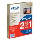 Epson Premium Glossy Photo Paper, foto papír, lesklý, bílý, A4, 255 g/m2, 30 ks, C13S042169, inkoustový,promo 1+1