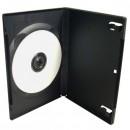 Box na 1 ks DVD, černý, slim, No Name, 9mm, cena za 1ks, baleno po 100ks
