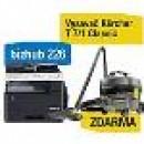 Konica Minolta Bizhub 226 set1 (DF-625+AD-509+MK-749+NC-504) + Kärcher vysokotlaký čistič K 3 Full control Home