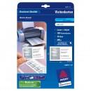 Avery Zweckform, vizitky, bílé, matné, A4, 200 g/m2, 85x54mm, 10 listů, pro laserové a inkoustové tiskárny, O