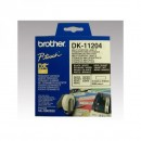 Brother papírové štítky 17mm x 54mm, bílá, 400 ks, DK11204, pro tiskárny řady QL