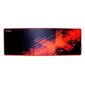 Podložka pod myš, Red Fighter, herní, černo-červená, 78 x 27 x 0.4 cm