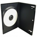 Box na 1 ks DVD, černý, No Name, 14mm, cena za 1ks, baleno po 5ks