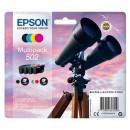 Epson originální ink C13T02V64010, 502, T02V640, CMYK, 550str., 3x3.3/4.6ml, Epson XP-5100, XP-5105, WF-2880dwf, WF2865dwf
