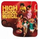 Podložka pod myš, DISNEY HIGH SCHOOL MUSICAL, z PVC, 21x24cm, 3mm, No Name