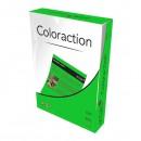 Xerografický papír Coloraction, Dublin, A4, 80 g/m2, tmavě zelený, 500 listů, vhodný pro inkoustový tisk