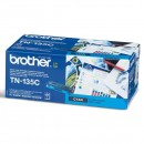 Brother originální toner TN135C, cyan, 4000str., Brother HL-4040CN, 4050CDN, DCP-9040CN, 9045CDN, MFC-9440C