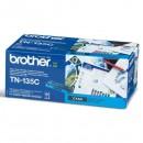 Brother originální toner TN135C, cyan, 4000str., Brother HL-4040CN, 4050CDN, DCP-9040CN, 9045CDN, MFC-9440C