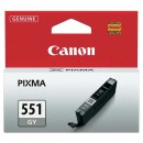 Canon originální ink CLI551GY, grey, 7ml, 6512B001, Canon PIXMA iP7250, MG5450, MG6350, MG7550