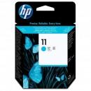 HP originální tisková hlava C4811A, No.11, cyan, 24000str., HP Business Inkjet 2xxx, DesignJet 100