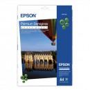 Epson Premium Semigloss Photo Paper, foto papír, pololesklý, bílý, Stylus Photo 880, 2100, A4, 251 g/m2, 20 ks, C13S041332, inkous