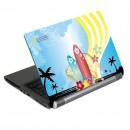 """Samolepka Aloha Splash, 15.4"""", windsurfing, lesklá, G-CUBE, na notebook"""