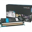 Lexmark originální toner C5222CS, cyan, 3000str., Lexmark C52x, C53x