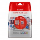 Canon originální ink 0386C006, cmyk, Canon CLI-571 C/M/Y/BK + 50x PP-201, Canon PIXMA TS5051,53,55, TS6050,51,52, TS8051,52,TS9050