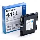 Ricoh originální gelová náplň 405766, cyan, 600str., GC41C, Ricoh AFICIO SG 2100N