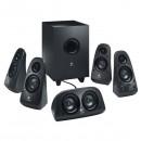 Logitech reproduktory Z506, 5.1, 75W, černé, regulace hlasitosti, pro Notebooky, pro PC, Subwoofer 27w