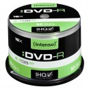 Intenso DVD-R, 4101155, 50-pack, 4.7GB, 16x, 12cm, Standard, cake box, pro archivaci dat