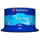 Verbatim 43351, DataLife, 50-pack, 700 Extra Protection, 52x, 80min., CD-R, 12cm, bez možnosti potisku, cake box, Standard, pro ar