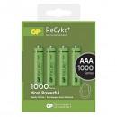 Baterie Ni-MH, AAA nabíjecí, 1.2V, 950 mAh, GP, blistr, 4, cena za 1ks
