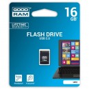 Goodram USB flash disk, 2.0, 16GB, UPI2, černý, UPI2-0160K0R11