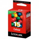 Lexmark originální ink 18C2110E, #15, color, return, 150str., Lexmark Z2320, X2650