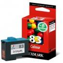 Lexmark originální ink blistr, 18LX042B, #83 HY, color, 520str., Lexmark Z55, Z65, Z65n