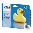 Epson originální ink C13T055640AO, CMYK, Epson Stylus Photo RX425, 420