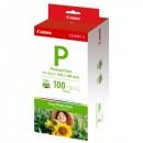 """Canon Easy Photo Pack E-P100, foto papír, lesklý, bílý, Selphy ES-1,ES-2,ES-20, 10x15cm, 4x6"""", 100 ks, 1335B001AA, termosublimační"""