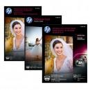 "HP Premium Plus Glossy Photo Paper, foto papír, lesklý, bílý, 13x18cm, 5x7"", 300 g/m2, 20 ks, CR676A, inkoustový,k tisku bez okraj"