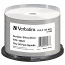 Verbatim DVD-R, 43647, Shiny Silver, 50-pack, 4.7GB, 16X, 12cm, General, Standard, cake box, bez možnosti potisku
