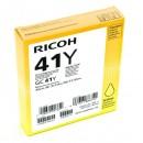 Ricoh originální gelová náplň 405764, yellow, 2200str., GC41HY, Ricoh AFICIO SG 3100, SG 3110DN, 3110DNW