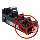 Konica Minolta originální odpadní nádobka A1AU0Y1, WB-P03, 36000str., MagiColor 4750, Bizhub C25, C35, MC3730, poškozený obal