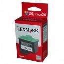 Lexmark originální ink 10N0026E, #26, color, 275str., Lexmark Z33, Z13, Z25, Z35