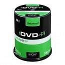 Intenso DVD-R, 4101156, 100-pack, 4.7GB, 16x, 12cm, Standard, cake box