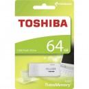 Toshiba USB flash disk, 2.0, 64GB, U202, bílý, bílá, THN-U202W0640E4