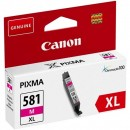 Canon originální ink CLI-581M XL, magenta, 8,3ml, 2050C001, very high capacity, Canon PIXMA TR7550,TR8550,TS6150,TS6151,TS8150,TS8