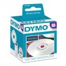 Dymo etikety na CD 57mm, bílé, 160 ks, 14681, S0719250