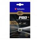 Verbatim paměťová karta micro SDXC Pro+, 32GB, micro SDXC, 44033, UHS-I U1 (Class 10), s adaptérem