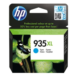 HP originální ink C2P24AE, HP 935XL, cyan, blistr, 825str., 9,5ml, HP Officejet 6812,6815,Officejet Pro 6230,6830,6835