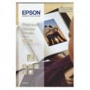 """Epson Premium Glossy Photo Paper, foto papír, lesklý, bílý, Stylus Color, Photo, Pro, 10x15cm, 4x6"""", 255 g/m2, 40 ks, C13S042153"""