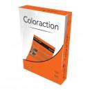 Xerografický papír Coloraction, Amsterdam, A4, 80 g/m2, cihlově oranžový, 100 listů, vhodný pro inkoustový tisk