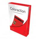 Xerografický papír Coloraction, Chile, A4, 80 g/m2, tmavě červený, 500 listů, vhodný pro inkoustový tisk