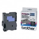 Brother originální páska do tiskárny štítků, Brother, TX-355, bílý tisk/černý podklad, laminovaná, 8m, 24mm