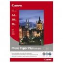 Canon Photo Paper Plus Semi-Glossy, foto papír, pololesklý, saténový, bílý, A4, 260 g/m2, 20 ks, SG-201 A4, inkoustový