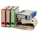 Box archivační, A4, 75mm, bílý, Emba, cena za 1ks, baleno po 25ks