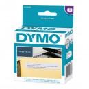 Dymo papírové štítky 51mm x 19mm, bílé, multifunkční, 500 ks, 11355, S0722550